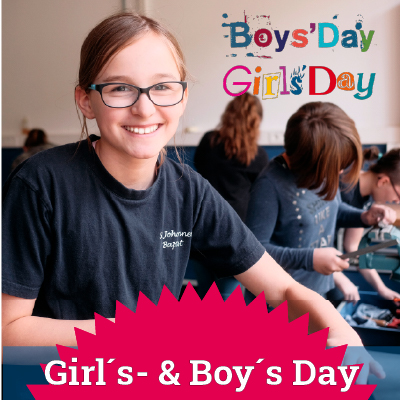 Girl's Day / Boy's Day Startseite Shortlink