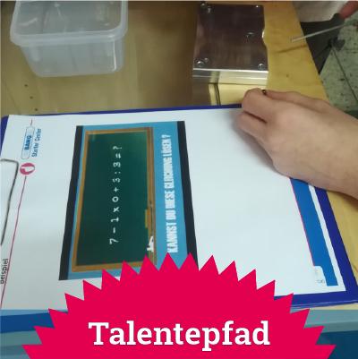 Talentepfad Starteseite Shortlink